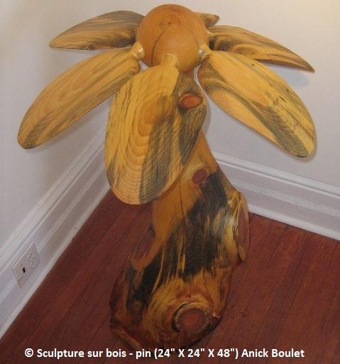 Anick_Boulet sculpture sur bois Photo courtoisie AnickBoulet_com