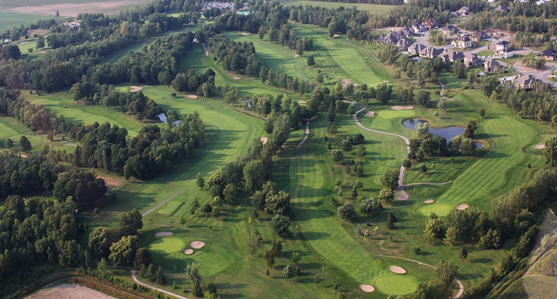 Club de golf Triangle_d_or Saint-Remi parcours Photo via site Web cgolftriangledor_com
