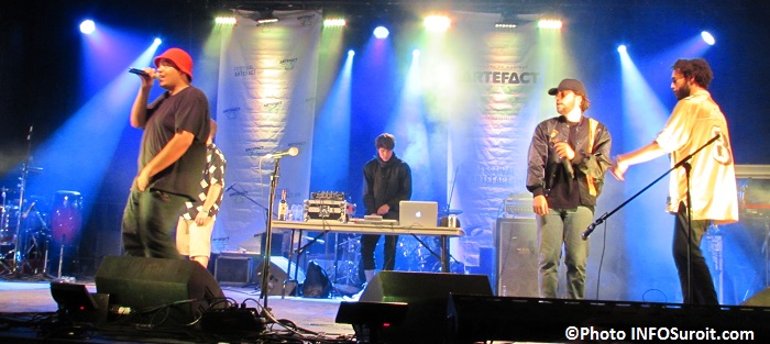 Dead_Obies au Festival Artefact Valleyfield Photo INFOSuroit_com