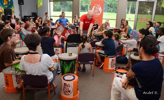 Fete Club de lecture Vaudreuil-Dorion avec percussions Photo Andre_B via Ville de Vaudreuil-Dorion