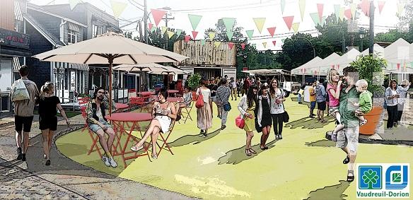 Fete urbaine Place Dumont Vaudreuil-Dorion Extait visuel Ville V-D