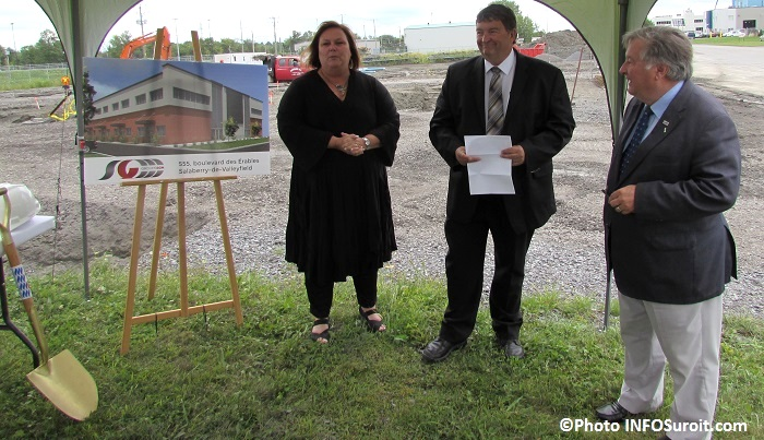 Joanne_Brunet Guy_Niquette et Denis_Lapointe Photo INFOSuroit_com