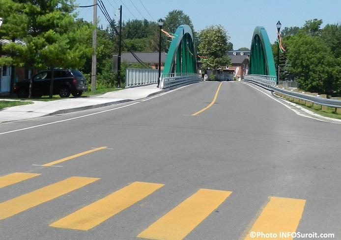Pont du Centenaire Ormstown dans le Haut-Saint-Laurent Photo INFOSuroit_com