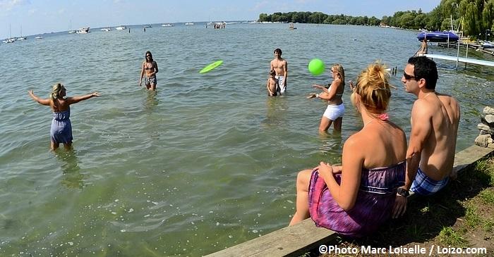 baie des brises St-Stanislas lac St-Francois Photo Marc_Loiselle via Tourisme_Suroit