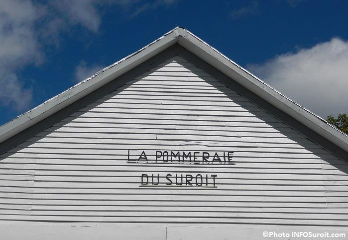 cidrerie Pommeraie_du_Suroit batiment et ciel bleu Photo INFOSuroit_com