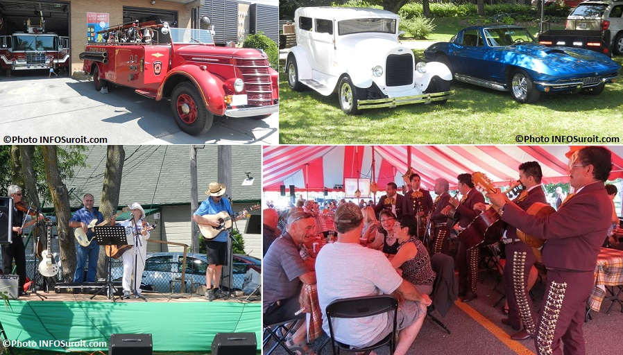 fete des moissons Ste-Martine vehicules antiques spectacle et plus Photos INFOSuroit
