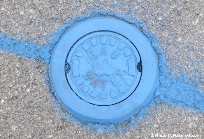 travaux conduite d eau potable aqueduc valve Photo INFOSuroit_com