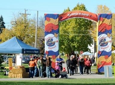 Festival des Couleurs de Rigaud entree et sortie du site extrait site Web FDC