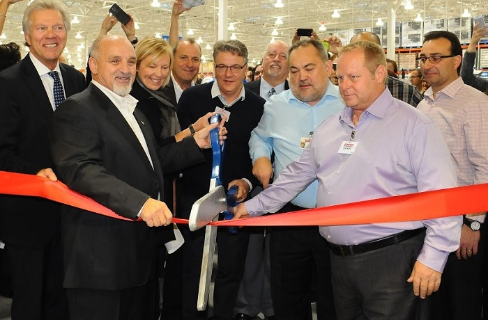 Costco Vaudreuil-Dorion inauguration Photo courtoisie Costco