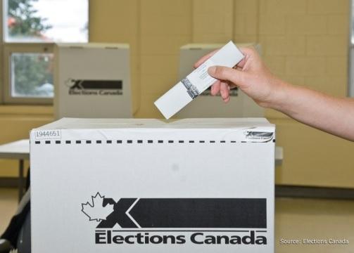 Elections Canada boite de scrutin vote Photo source Elections Canada