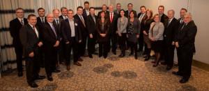 Mission economique du Quebec a Chicago avec le PM Philippe Couillard Photo Patrick Lachance MCE