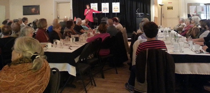 aines diner conference auteure Denise_Gaouette projet MIDAS-S Photo CAB Chateauguay