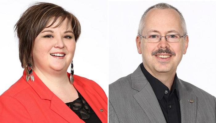 Beauharnois nominations de Julie_Fortin et Alain_Gravel Photo courtoisie