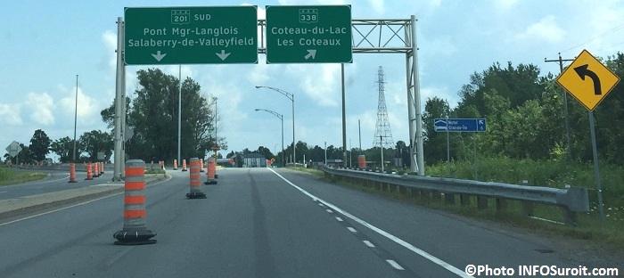 enseigne pont Mgr-Langlois-Valleyfield-Coteau-du-Lac Photo INFOSuroit_com