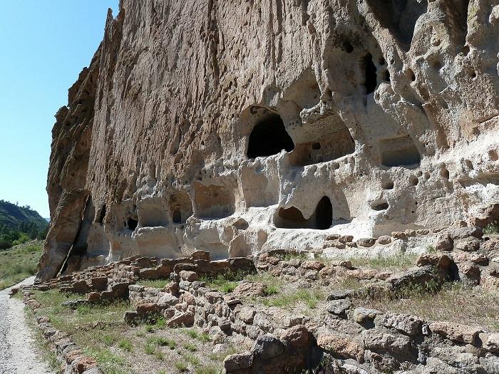 monument Bandelier Nouveau-Mexique restes maisons amerindiennes Photo Pixabay