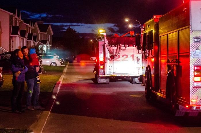 pompiers grande evacuation 2015 Valleyfield Photo courtoisie SdV