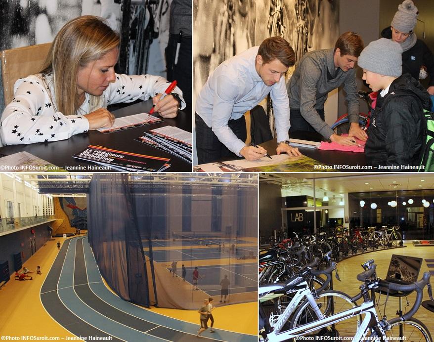 Centre Multisports M_Tisseyre D_Veilleux et H_Houle athletisme et entrainement velo Photos INFOSuroit-Jeannine_Haineault