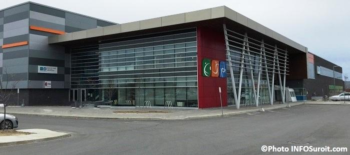 Centre Multisports de Vaudreuil-Dorion sur chemin de la Gare Photo INFOSuroit