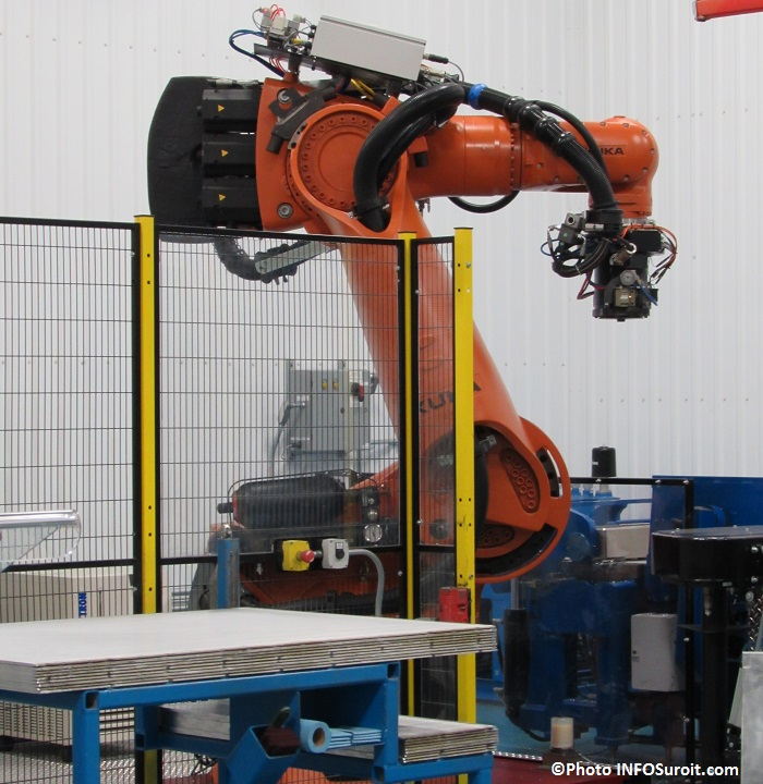 Groupe Tremblay nouveau robot Photo INFOSuroit_com