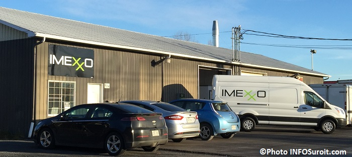 Imexxo camion et batiment parc industriel Grande-Ile Photo INFOSuroit_com
