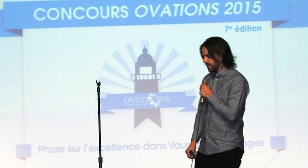 Ovations VS 2015 Simon_De_Baene president GSoft Photo courtoisie OVS