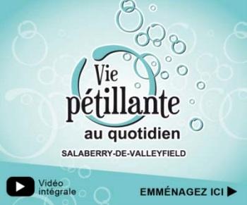 Visuel Valleyfield - Vie petillante au quotidien lien vers video