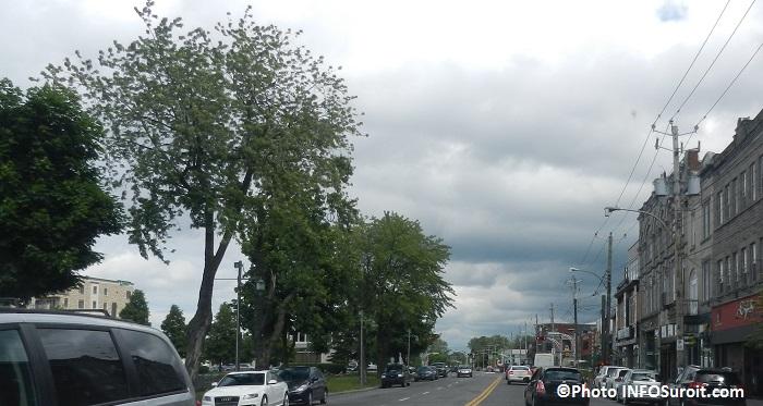 rue Victoria au centre-ville Salaberry-de-Valleyfield Photo INFOSuroit_com