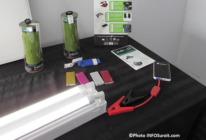 Imexxo luminaires DEL survolteur batterie pack Photo INFOSuroit_com