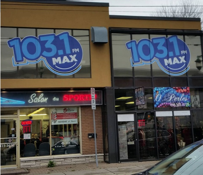 Max103 locaux nouvelle radio rue Alexandre a Valleyfield Photo courtoisie