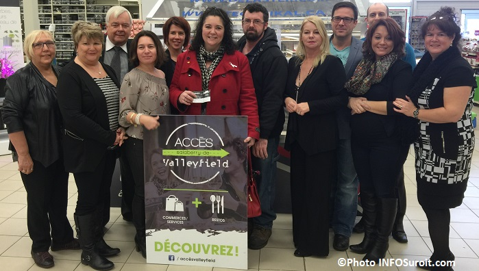 Tirage 14 decembre Acces Valleyfield au Canadian Tire Photo INFOSuroit_com