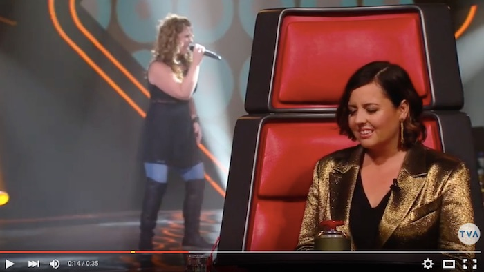 Marie-Pier_Leduc et Ariane_Moffat a La Voix via TVA YouTube