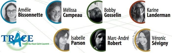 artistes pour le projet trace de 2016