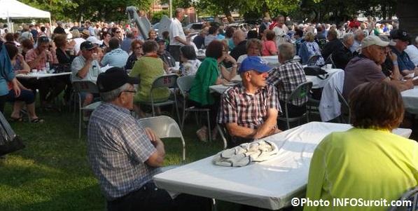souper spaghetti des benevoles aux regates de Valleyfield Photo INFOSuroit_com