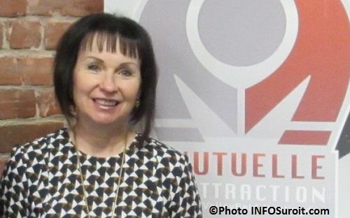 Guylaine_Martineau d Emploi Quebec a la Mutuelle Photo INFOSuroit_com