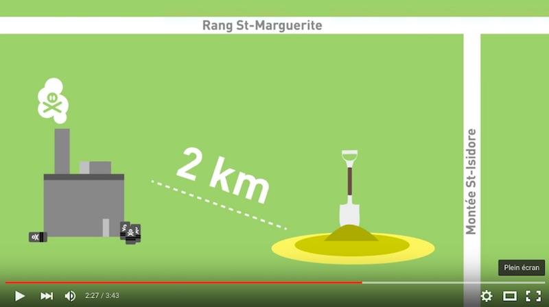 extrait video Non au projet Agregats Lefebvre Site YouTube AmelieHaeck