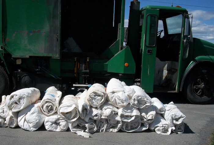 pellicules plastiques agricoles recuperation recyclage Photo MRC BhS
