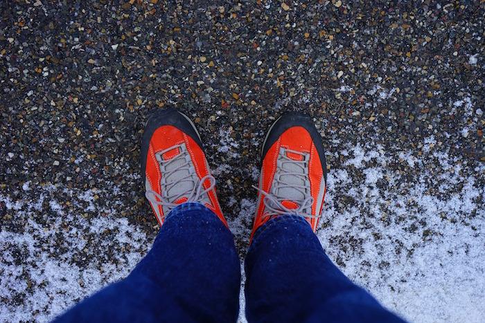 pieds espadrilles marche course hiver Photo Pixabay via INFOSuroit
