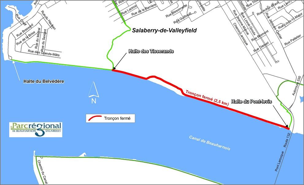 parc regional piste cyclable fermeture troncon 20 avril 2016 image MRC