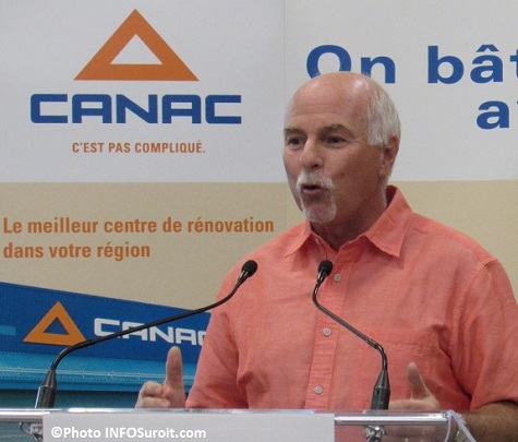 Canac president Jean_Laberge a Beauharnois photo INFOSuroit