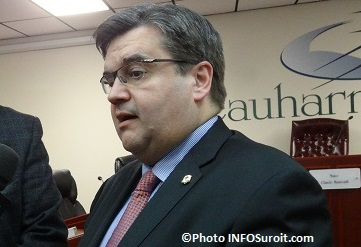 Denis_Coderre maire de Montreal a Beauharnois Photo INFOSuroit