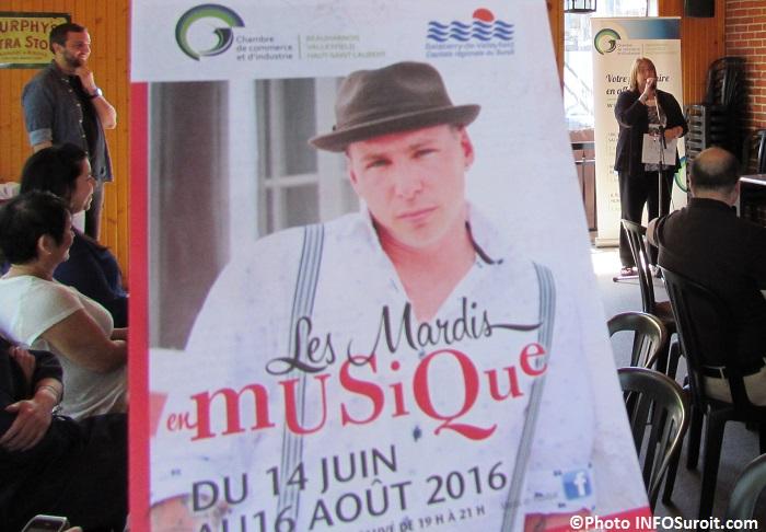 Mardis en musique Chambre de commerce programmation photo INFOSuroit