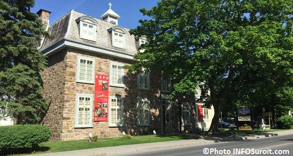 Musee regional de Vaudreuil-Soulanges sur avenue St-Charles Photo INFOSuroit