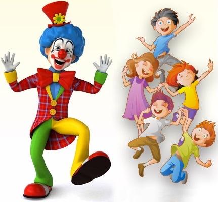 clown et enfants fete familiale image courtoisie FHS