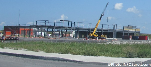 construction commerciale pres chemin de la Beauce a Beauharnois Photo INFOSuroit_com