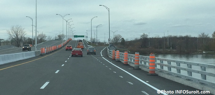 pont Mgr-Langlois route 201 des travaux pres chemin du Fleuve Photo INFOSuroit