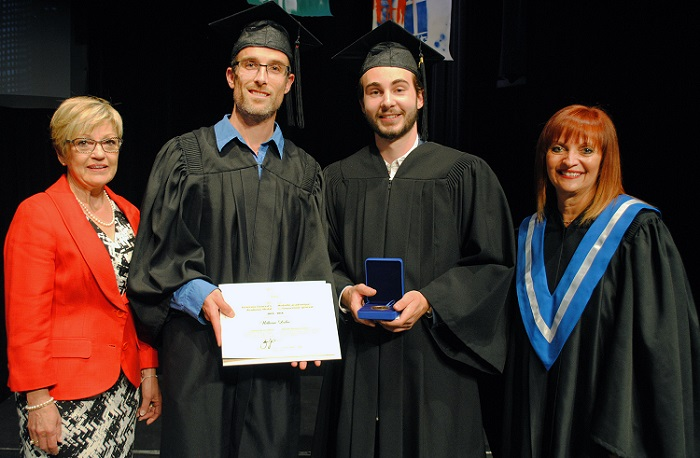 College Valleyfield Manon_Murphy William_Leduc Danny_St-Pierre Suzie_Grondin Photo Colval