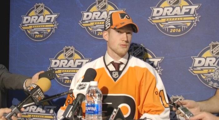 Pascal_Laberge hockey Draft LNH 2016 Extrait video Flyers Philadelphie