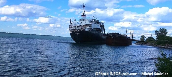bateau Kathryn Spirit lac St-Louis a Beauharnois Photo Michel Saulnier pour INFOSuroit