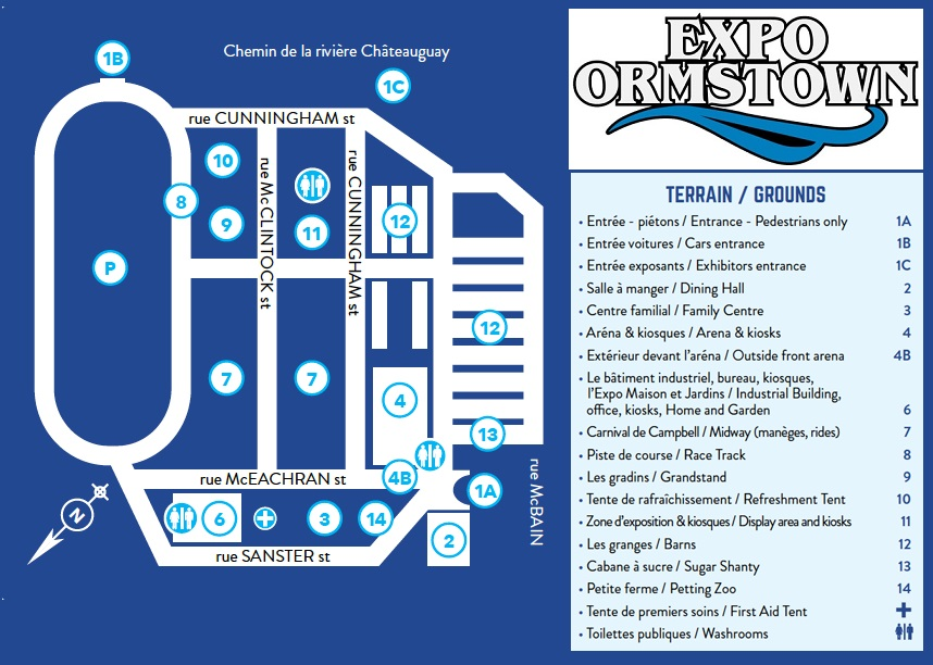 expo Ormstown carte du site Image courtoisie expoormstown_com