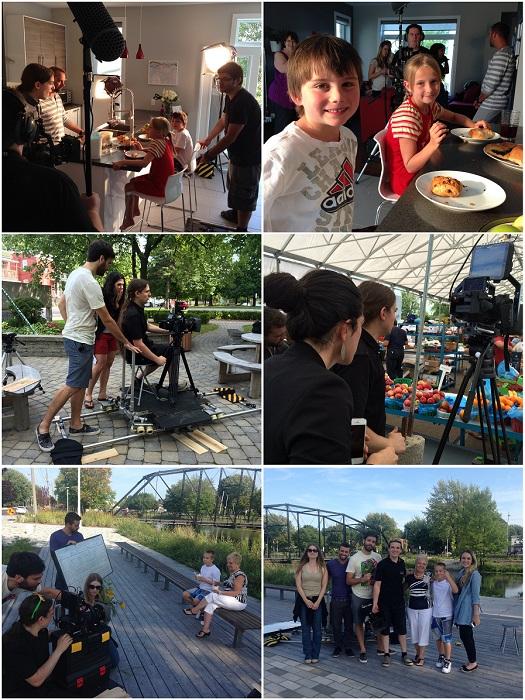 tournage video promotionnelle Vie petillante Photos Ville Salaberry-de-Valleyfield
